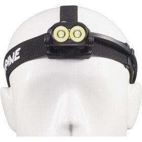 Lupine Piko RX 7 - Lampe frontale - 1800 lm sans fixation pour batterie avec commande à distance Bluetooth + support noir